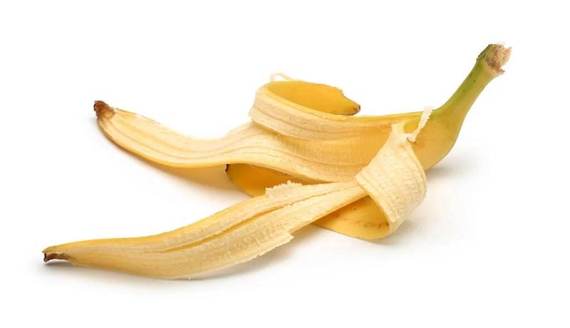 Ilustrasi kulit pisang. (Pixabay)