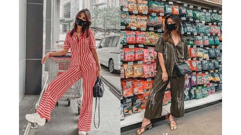 OOTD Belanja: Tampilan Kece Artis saat Shopping di Supermarket