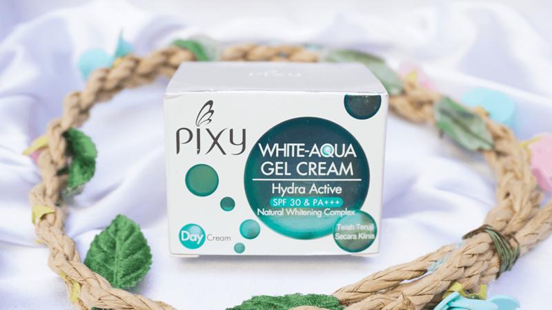 Pixy White Aqua Gel Day Cream Jaga Kulit Cantikmu Sepanjang Hari