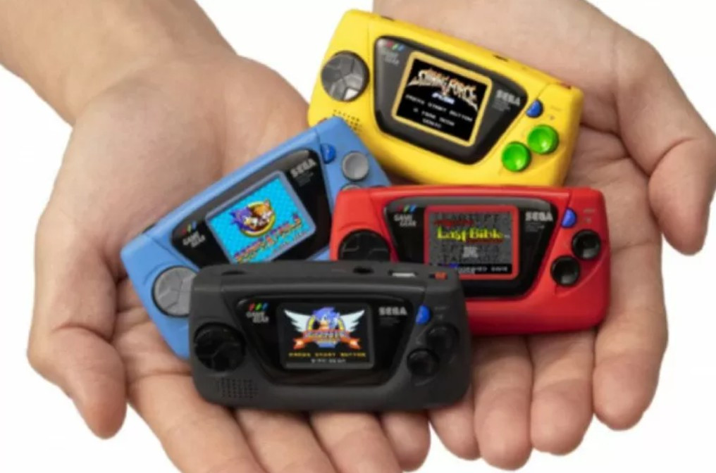 Game Gear Micro besutan Sega. Foto: Amazon.co.jp