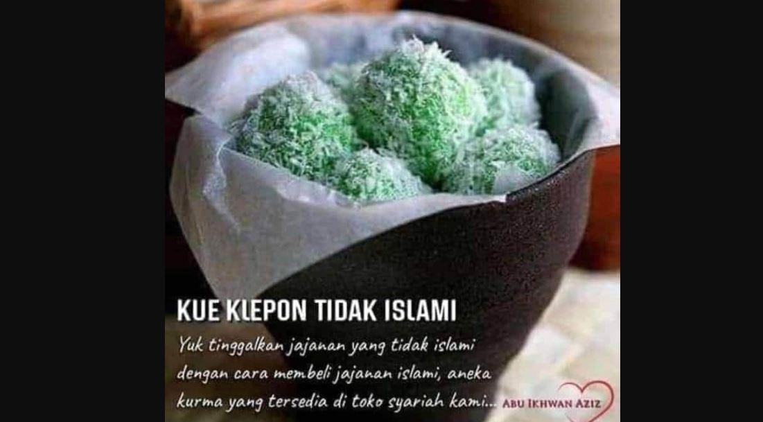 Heboh Klepon Tidak Islami, Wadidaaaawwww!