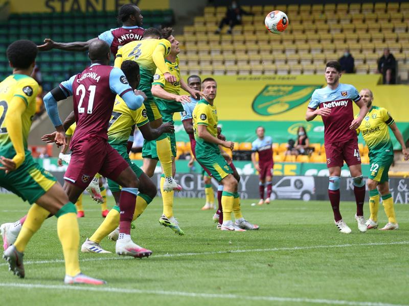Jadwal dan Hasil Liga Inggris: Norwich City vs West Ham 0-4