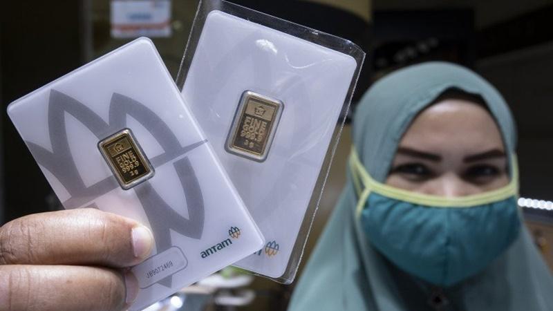 Harga Emas Antam 24 Karat Kamis, Kepingan 0,5 Gr jadi Rp 500 Ribu