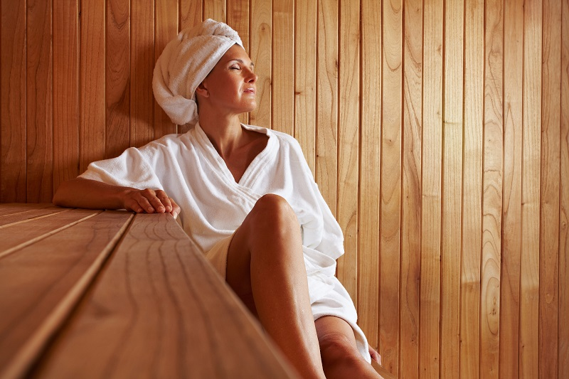 ilustrasi: tempat sauna ditutup saat pandemi (Foto : harvard health)