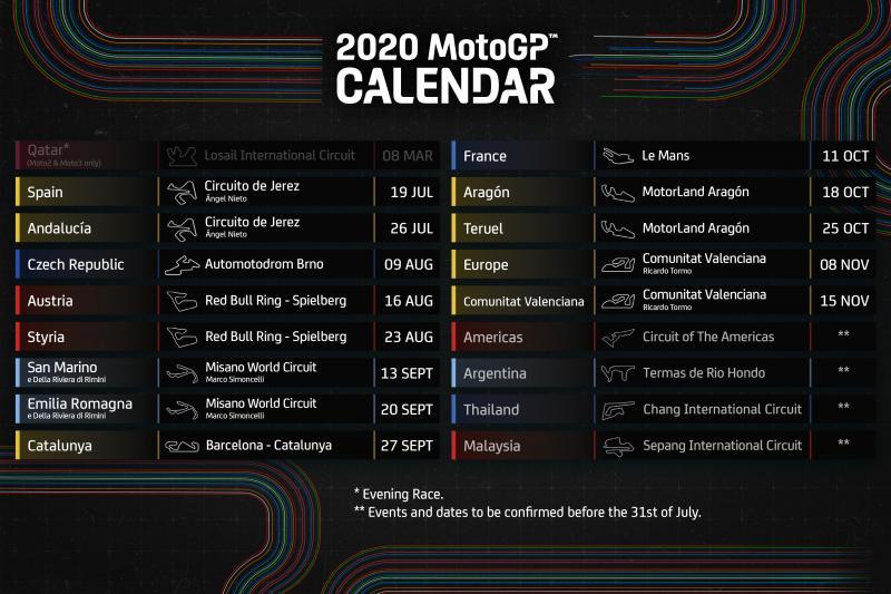 Jadwal MotoGP 2020: Yes, Saatnya Nonton Rossi dan Marquez