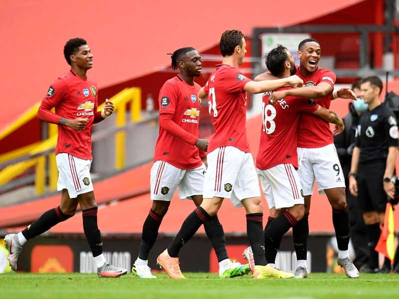 Manchester United vs Bournemouth 5-2: Trio Setan Merah Gagah