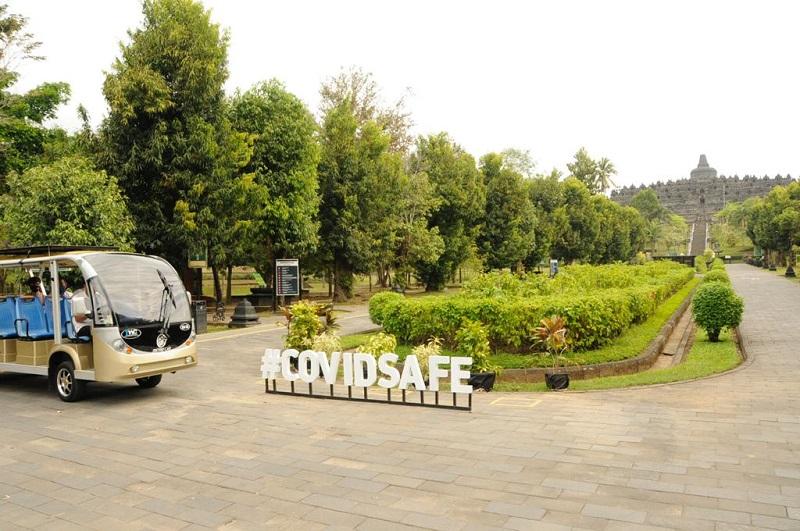 Wisata Candi Borobudur dan Ratu Boko Terapkan Protokol Kesehatan