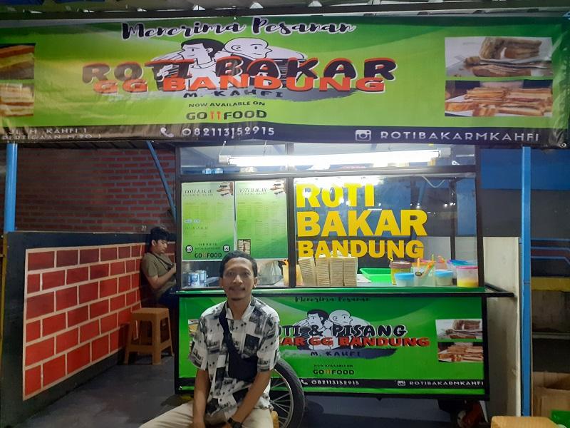 Rasa Vanila yang Khas dari Roti Bakar GG Kahfi 1 ( foto: GenPI.co)