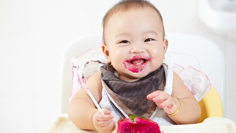 4 Risiko Terlambat Perkenalkan si Kecil Makanan Bertekstur