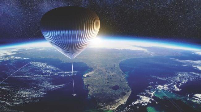 Balon udara 'Spaceship Neptune' siap membawa ke lapisan luar Bumi (foto: space.com)