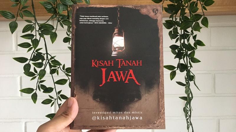 Buku Kisah Tanah Jawa menguak misteri dan mitos di Pulau Jawa (foto: Mia Kamila)