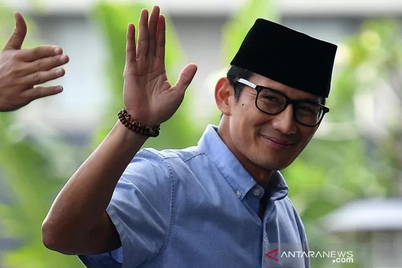 Menaparekraf Sandiaga Salahuddin Uno (Foto: ANTARA)