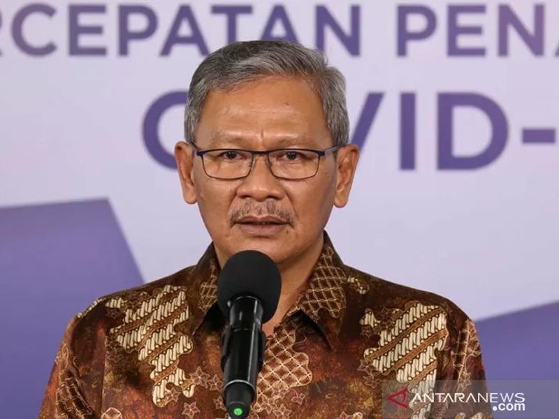 Juru Bicara Pemerintah untuk Penanganan COVID-19 Achmad Yurianto. Foto: Antara