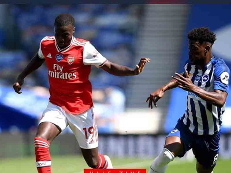 Laga Brighton & Hove Albion vs Arsenal. Foto: Instagram/Arsenal