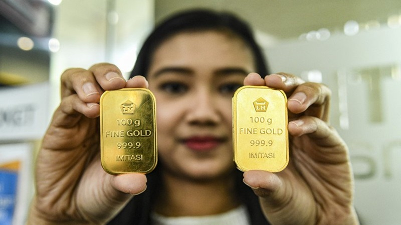 Lanjut Turun Lo, Begini Harga Emas Antam Hari Ini 10 Agustus 2020