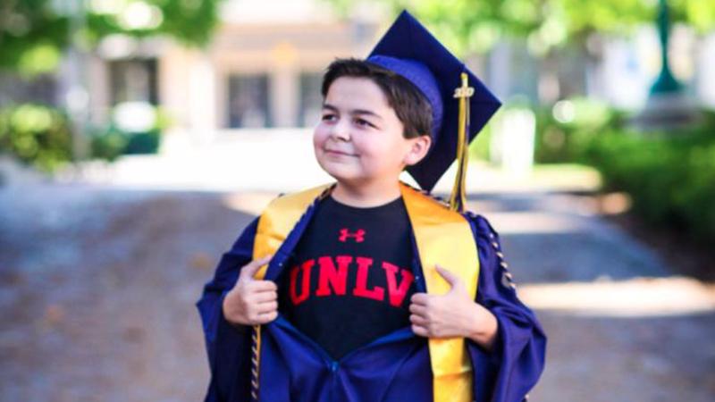 Jack Rico mendapat 4 gelar sarjana di usia 13 tahun (foto: Sarah Ancich/ CNN)