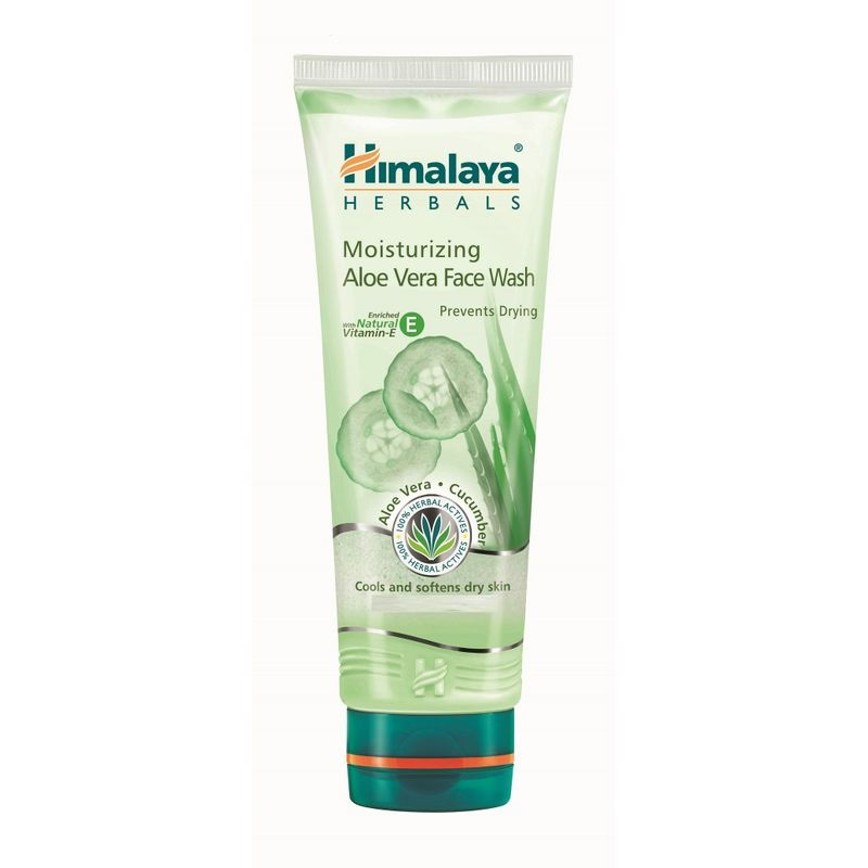 Himalaya Moisturizing Aloe Vera Face Wash (Foto: nykaa)