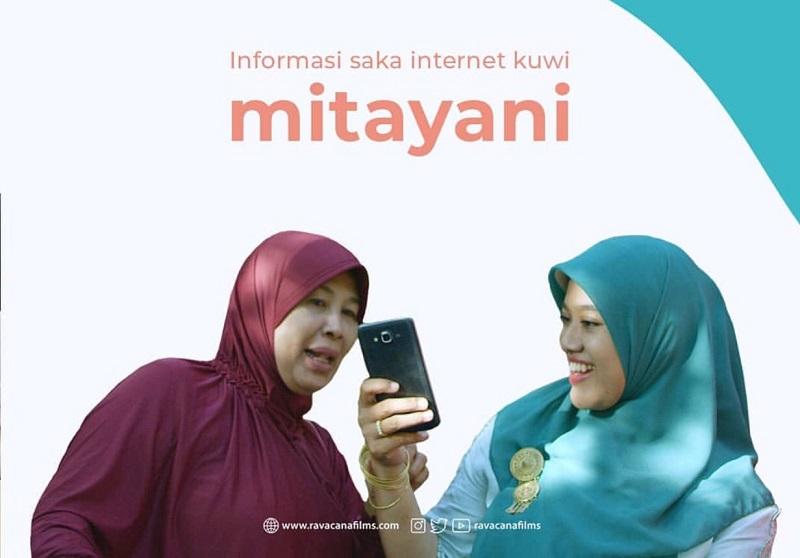 Lakukan cek and ricek berita sebelum menelan informasi matang (foto: cuplikan film Tilik by IG Ravacana films)