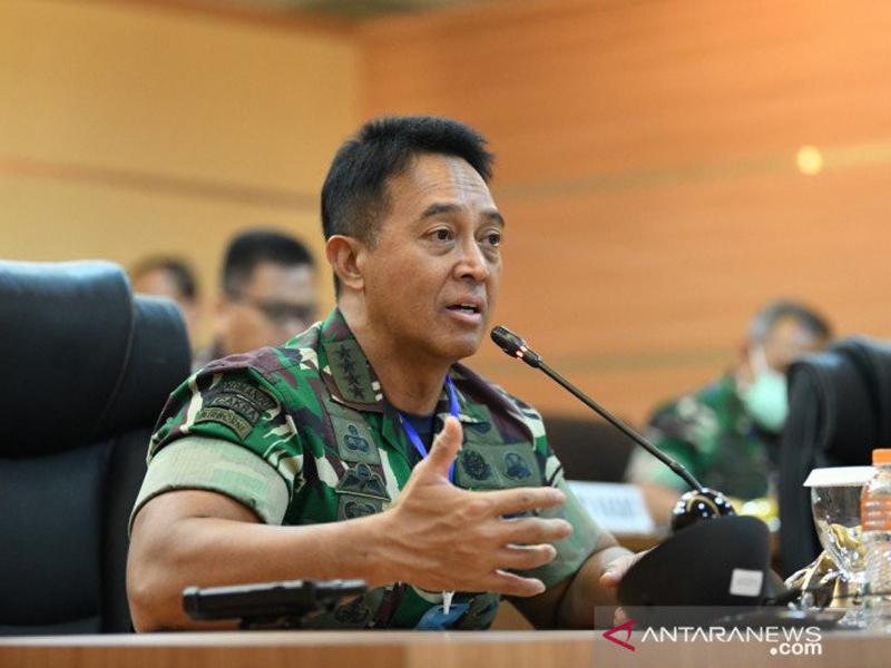 Jenderal Andika Perkasa. Foto: Antara
