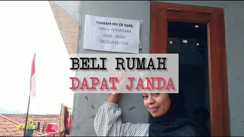Janda muda jual rumah sambil cari suami (foto: IG @jakartacityid)