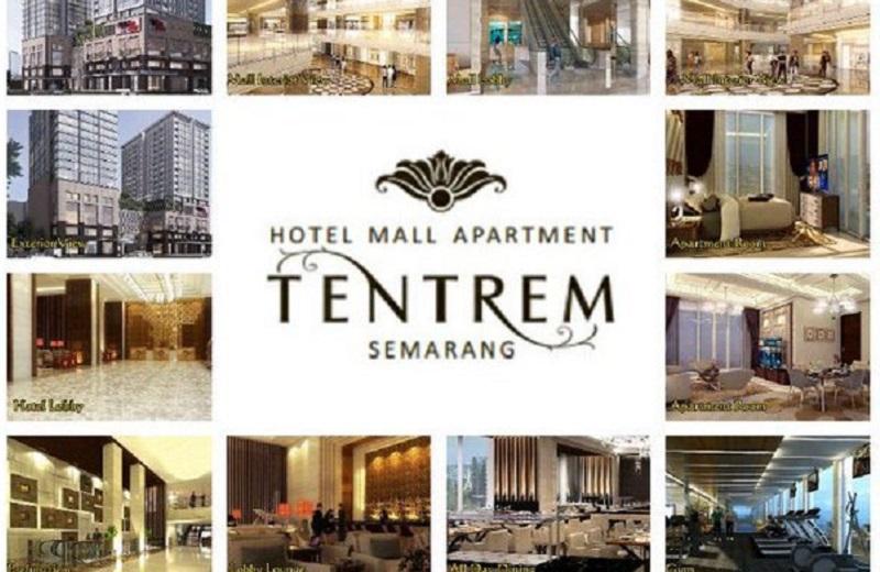 Hotel, Mal & Apartemen Tentrem Semarang ( foto: Semarang.bisnis.com)