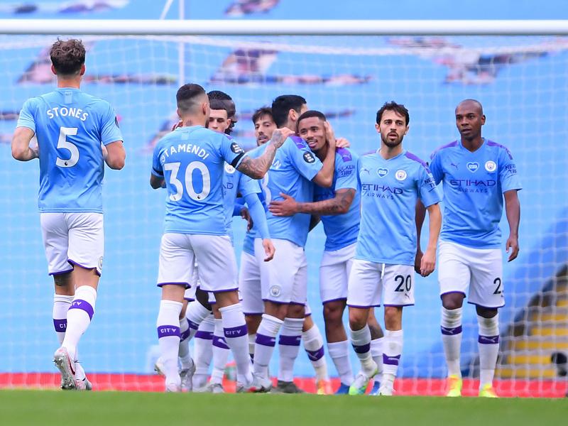 Manchester City. Foto Twitter/Premierleague
