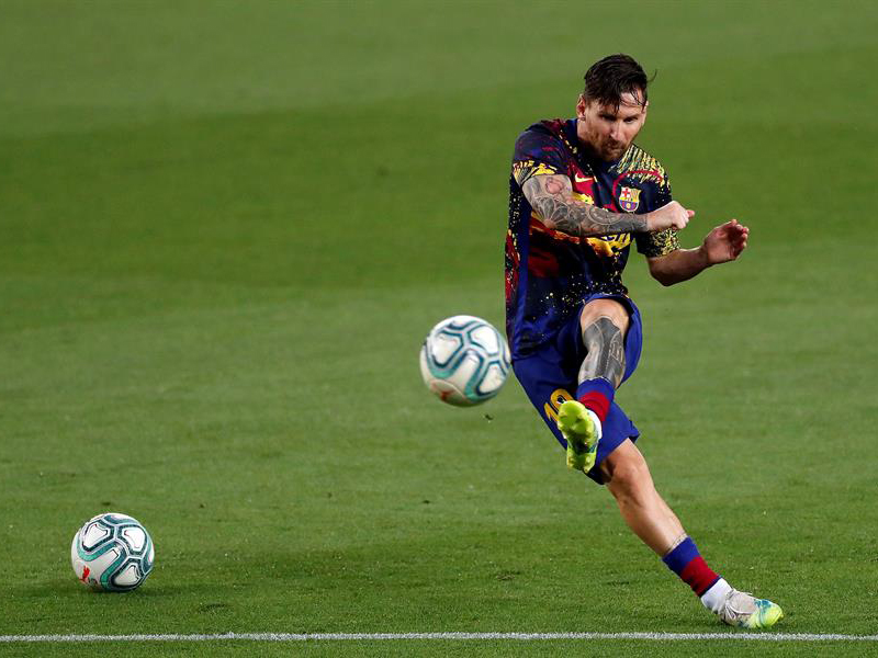 Lionel Messi. Foto: Twitter/laliga_eng