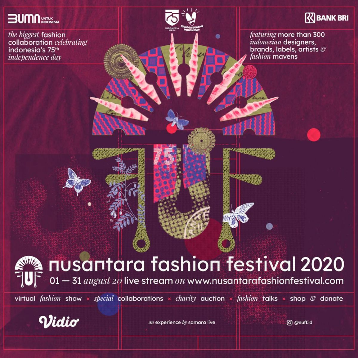 NUFF 2020: Digitalisasi Kunci Industri Fashion Makin Bertaji