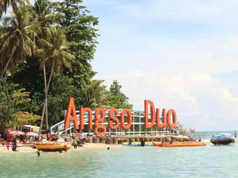 Pulau Angso Duo. Foto: Antara