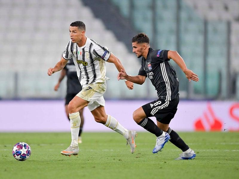 Juventus vs Lyon 2-1: Cristiano Ronaldo Cuma Bisa Melongo