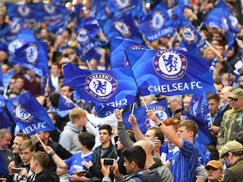 Suporter Chelsea. Foto: Chelsea FC