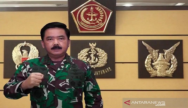 Panglima TNI Marsekal Hadi Tjahjanto. FOTO: Antara