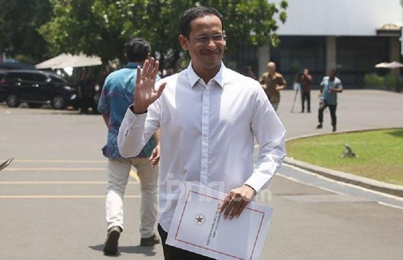 Menteri Pendidikan dan Kebudayaan Nadiem Makarim (Foto: Jpnn.com/Ricardo)