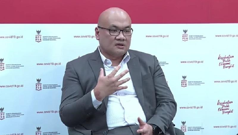 Managing Director IPSOS Indonesia, Soeprapto Tan (foto: YouTube/Lawan Covid19 ID)
