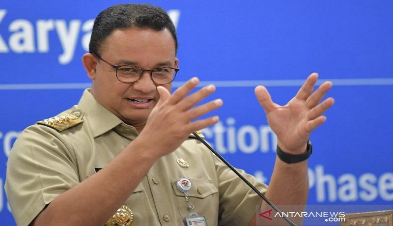Gubernur DKI Jakarta Anies Baswedan. Foto: Antara