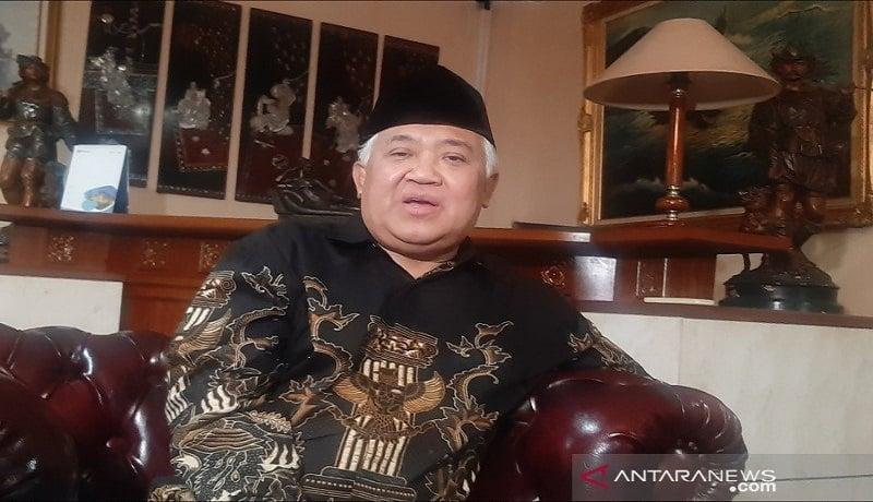 Presidium KAMI Din Syamsuddin. FOTO: Antara