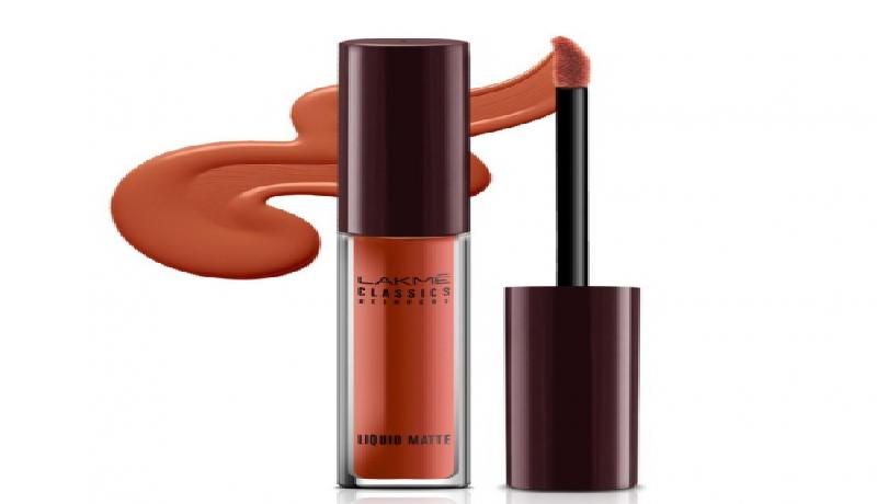 Lakmé Classic Liquid Matte Lip Cream Sunset. (review female daily)