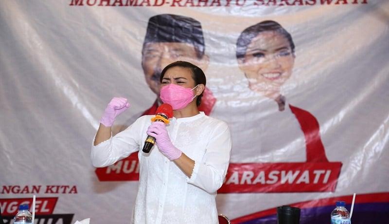 Calon Wakil Walikota Tangsel Rahayu Saraswati. FOTO: Antara