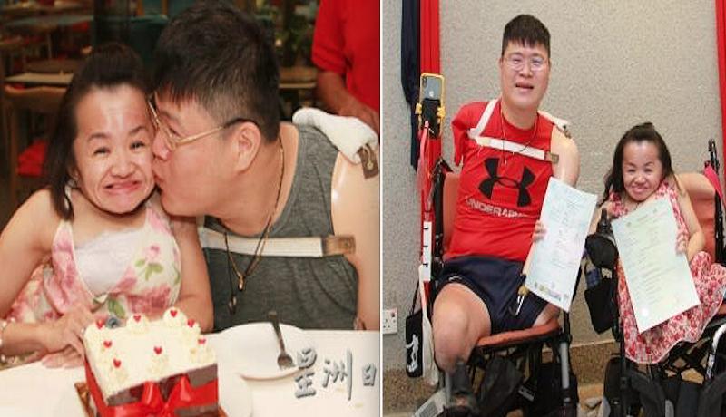 Pasangan Chen Jin Qi dan Xu Shi Huang. Foto: Sin Chew Daily