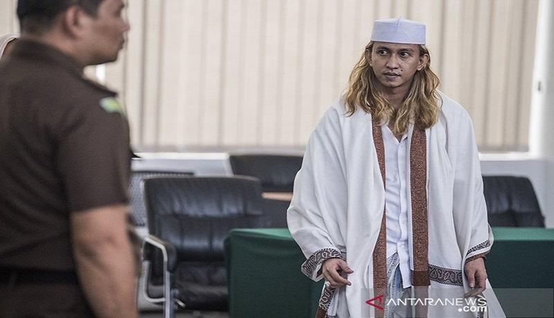 Bahar bin Smith saat menjalani sidang. FOTO: Antara
