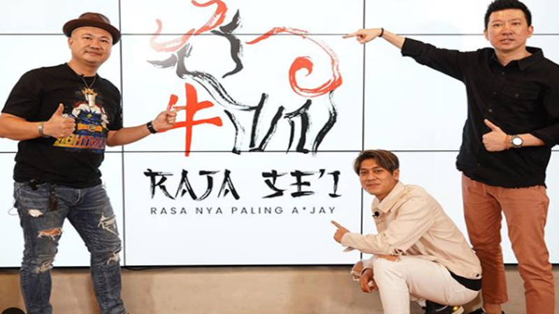 Rizky Bilar merupakan sosok muda yang bisa menjadi panutan. Kini ia merambah bisnis, dan siap membuka Restoran Raja Sei (foto: SC IG @rizkybillar)