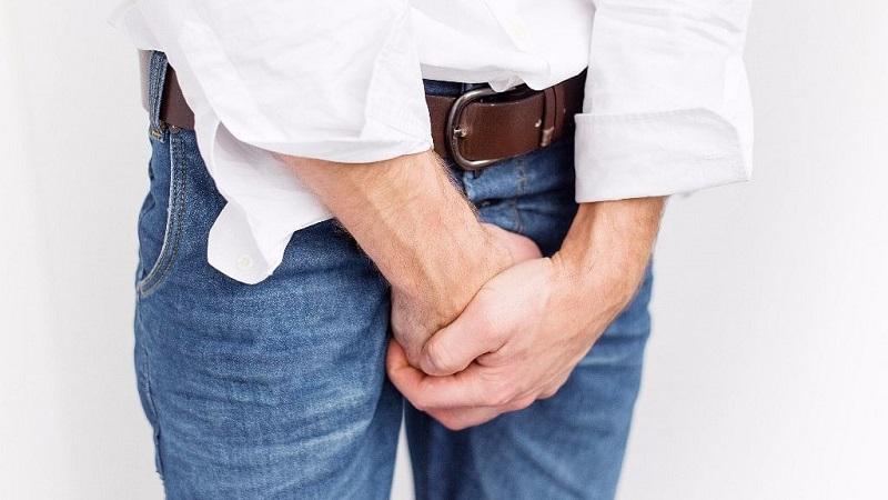Ilutrasi: jerawat genital pada area sensitif ( foto: The Quint)