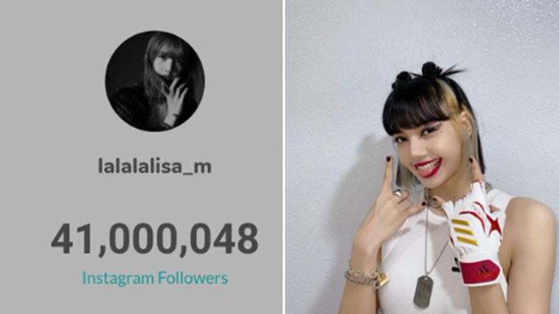 Lisa Blackpink, follower-nya di Instagram tembus 41 juta (sumber foto: SC Twitter @CHARTS_LISA)