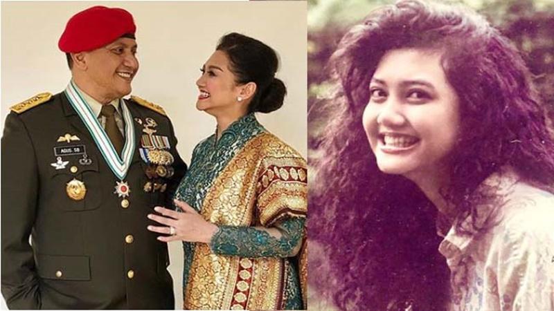 Bella Saphira yang berjodoh dengan seorang jenderal, secantik bidadari sejak remaja (foto: SC IG @bellasaphiraofficial)