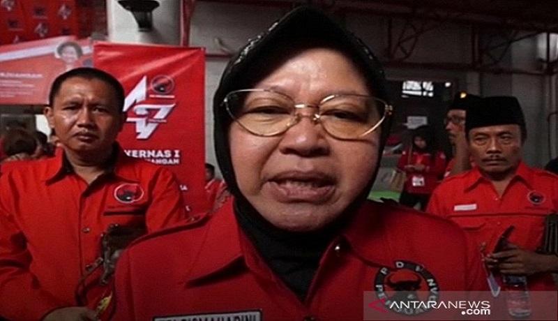 Wali Kota Surabaya Tri Rismaharini. FOTO: Antara
