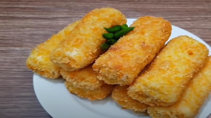 Risoles sayur dengan kulit yang lembut (foto: SC YouTube Mama Adeeva )