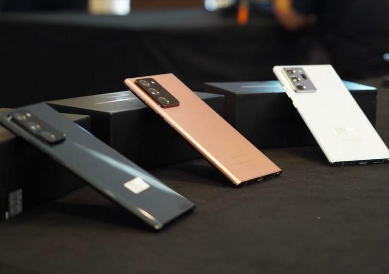 Samsung Galaxy Note20 Ultra (foto: Sapta Inong)