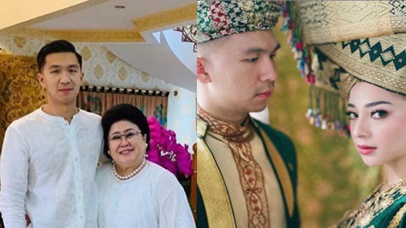 Nikita Willy bersama suami, dan sang mertua (foto: SC IG @damirikarlina dan @nikitawillyofficial94)