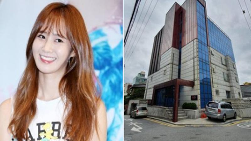 Yuri SNSD membeli gedung berlantai 5 (sumber foto: SC Twitter @soonkyupsal)