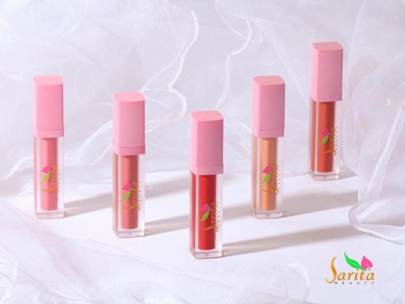 Lip Cream Sarita Beauty Bikin Bibir Terproteksi Seharian